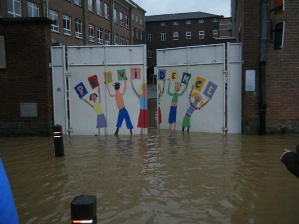 Institut de la Providence, inondations 14 novembre 2010