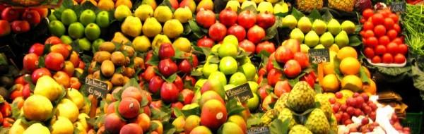 Fruits sur un marché de Barcelone, galerie Flickr de theseanster93