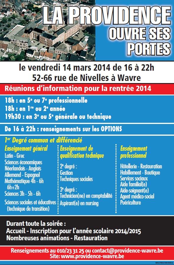 Portes ouvertes IPW 2014