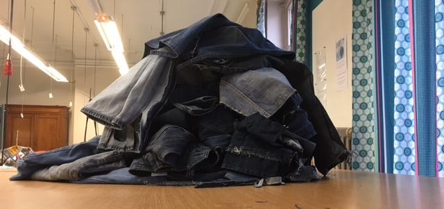 Jeans à recycler