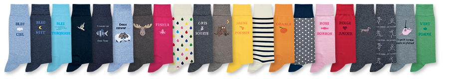 Chaussettes collection Pomdepin