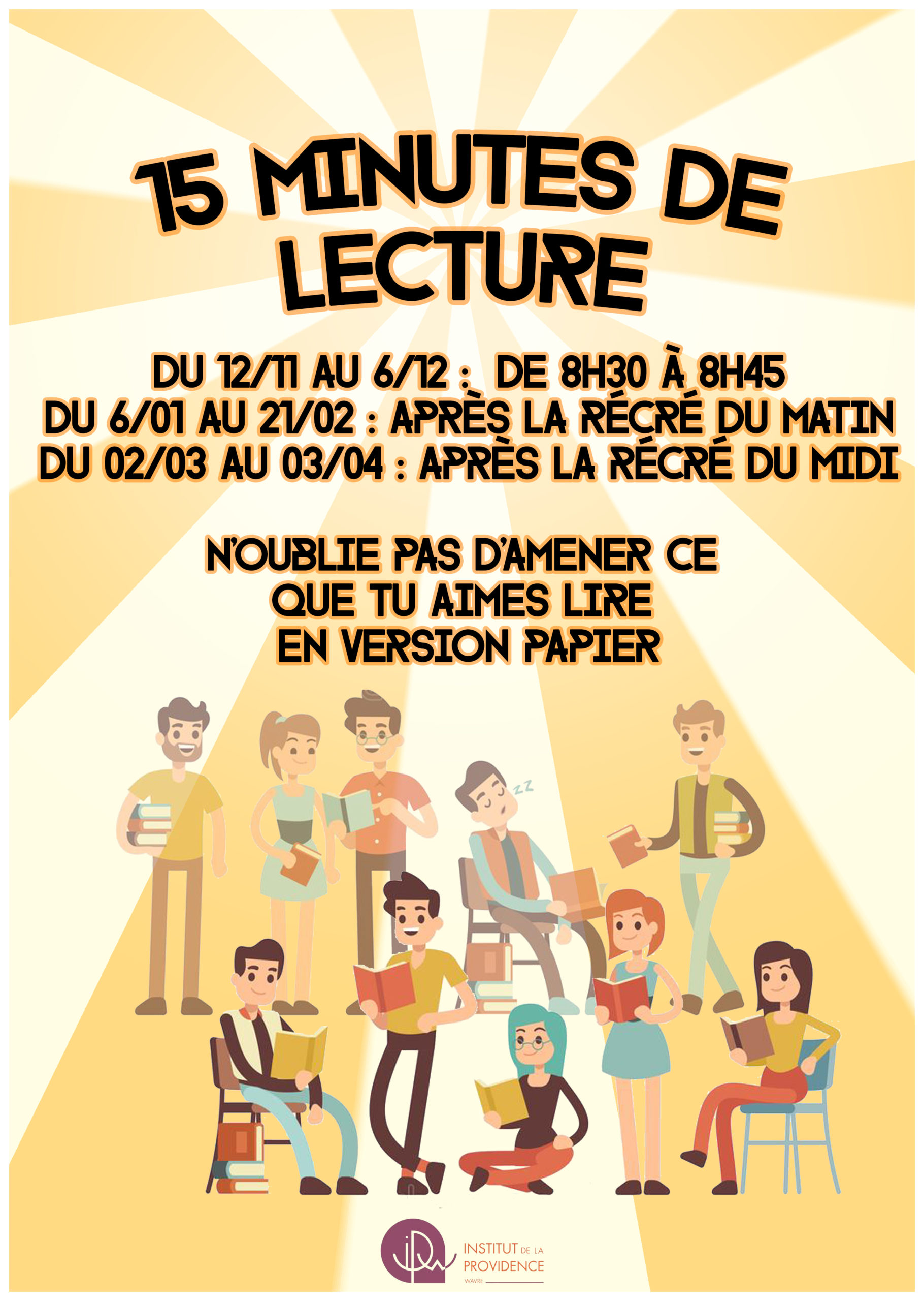15' de lecture - Affiche